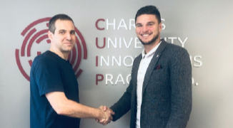 Licensing contract signed with Charles University